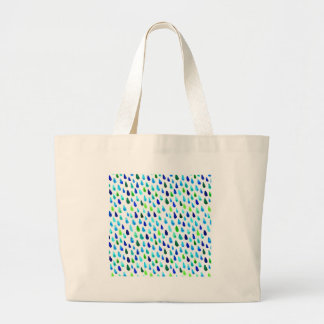 Rain Large Tote Bag