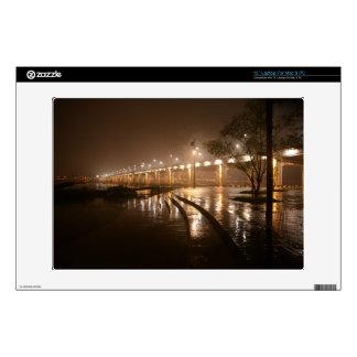 Rain Light Night Laptop Skin