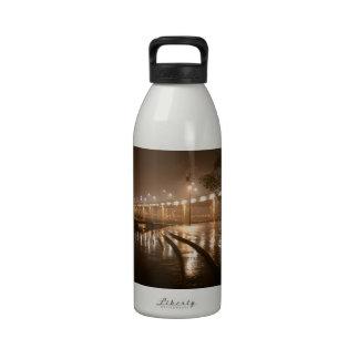 Rain Light Night Reusable Water Bottle