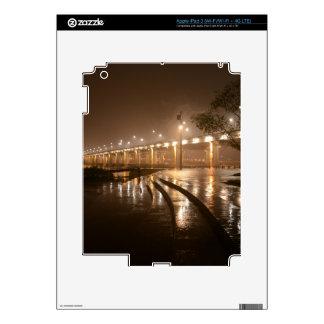 Rain Light Night iPad 3 Decal