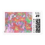 Rain Lilies Stamp