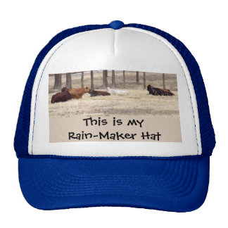 Rain-maker (Cows are lying down) Trucker Hat