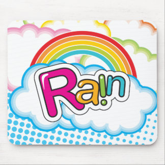 Rain - Mousepad