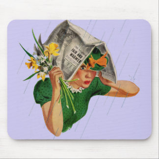 rain not in the forecast mouse pad