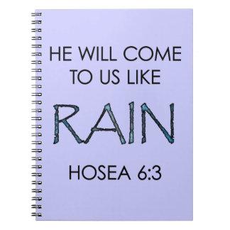 Rain Notebooks