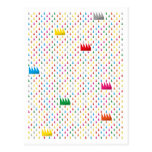 Rain of colors tarjetas postales