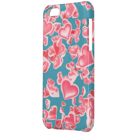 Rain of hearts case for iPhone 5C