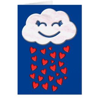 Rain of Hearts Valentine's Day