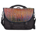 rain on colorful glass bags for laptop