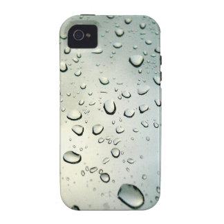 Rain on my Window Vibe iPhone 4 Cover