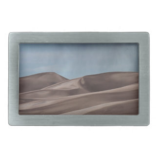 Rain on the Great Sand Dunes Belt Buckle