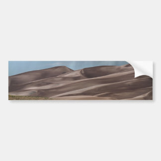 Rain on the Great Sand Dunes Bumper Sticker