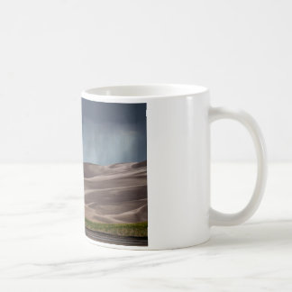 Rain on the Great Sand Dunes Coffee Mug