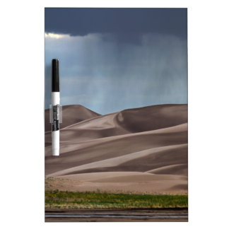 Rain on the Great Sand Dunes Dry-Erase Board