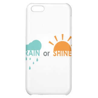 Rain or Shine iPhone 5C Cases