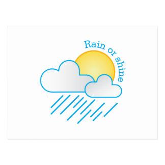 Rain Or Shine Postcard