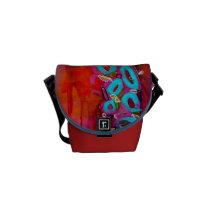 """""""Rain Party I"""" Mini Messenger Bag"""