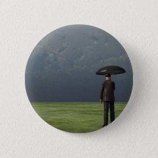 Rain Pinback Button