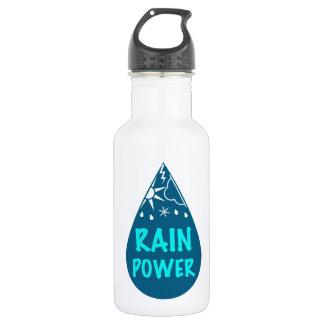 RAIN Power Logo Water Bottle
