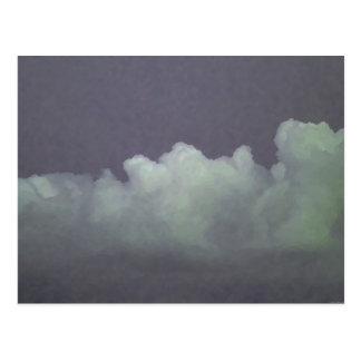 """""""Rain Puffs"""" - Postcard"""