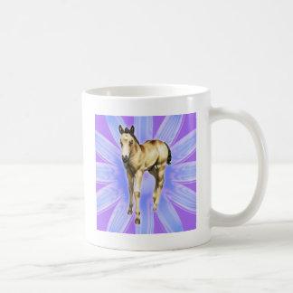 Rain QH filly purple graphic Classic White Coffee Mug