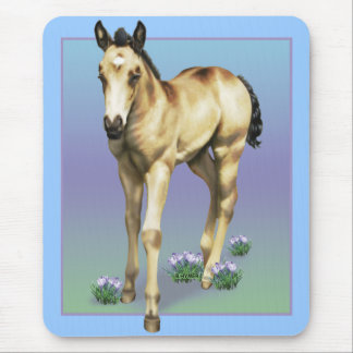 Rain Quarter Horse Filly Mouse Pad