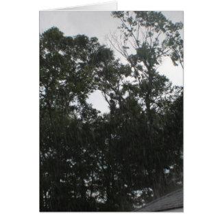 Rain Rain Go Away Card
