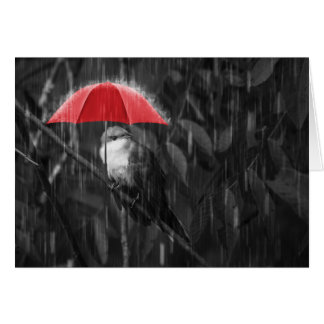Rain, Rain, Go Away! Card