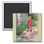 Rain, rain, go away, Come again another day 2 Inch Square Magnet
