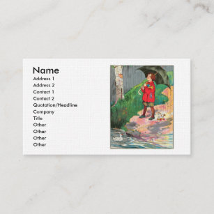 Going away business cards zazzle rain rain go away come again another day business card colourmoves