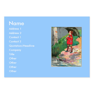 Rain, rain, go away, Come again another day Large Business Cards (Pack Of 100)