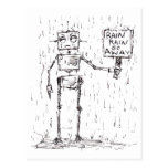 Rain Rain Go Away Post Card