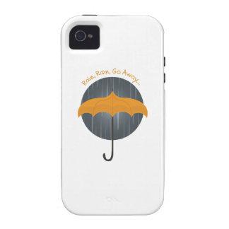 Rain Rain Go Away Vibe iPhone 4 Cases