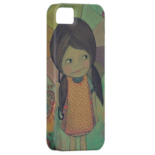 rain + shine by valeri blossom iphone 5 cover