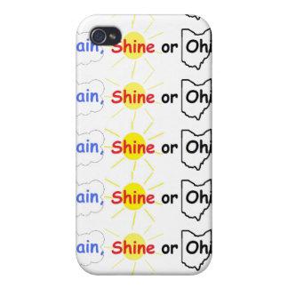 Rain Shine or Ohio iPhone 4 Cover