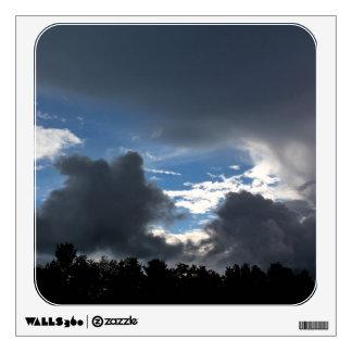 Rain Showers & Blue Skies Wall Decal