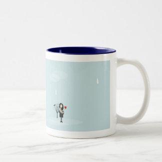 Rain Showers my Spirits Coffee Mugs