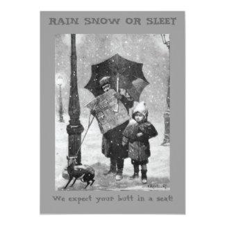 Rain Snow or Sleet Invitation