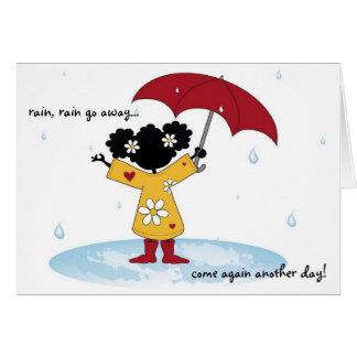 Rain Splash Card