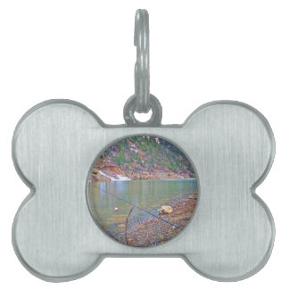 Rain sprinkle fishing pet tag