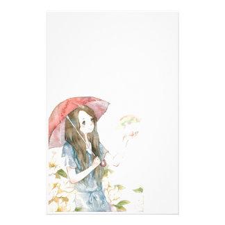 rain stationery