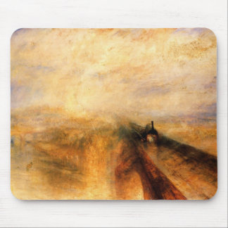 Rain, Steam And Speed- The Great Western Railway Mouse Pad