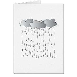 Rain Storm Greeting Card