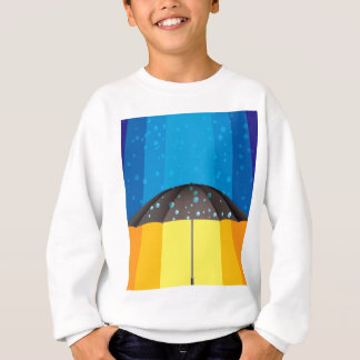 Rain storm on a sunny day sweatshirt
