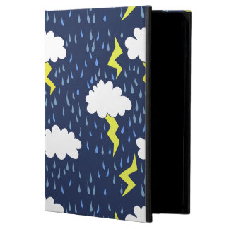 Rain storms thunder clouds iPad air cases
