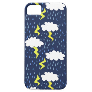 Rain storms thunder clouds iPhone SE/5/5s case