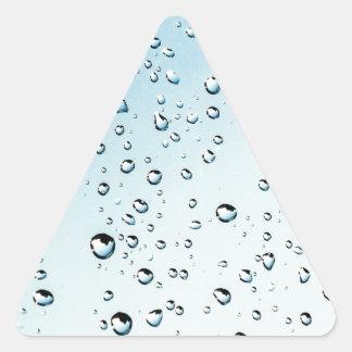 rain triangle sticker