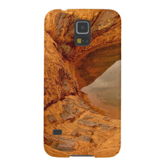 RAIN WATER CAUGHT IN BETWEEN DESERT ROCKS CASE FOR GALAXY S5