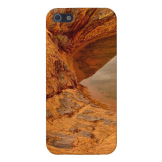 RAIN WATER CAUGHT IN BETWEEN DESERT ROCKS CASE FOR iPhone SE/5/5s