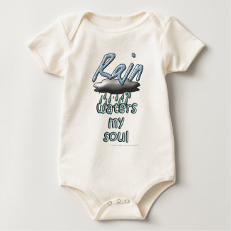 Rain waters my soul baby bodysuit